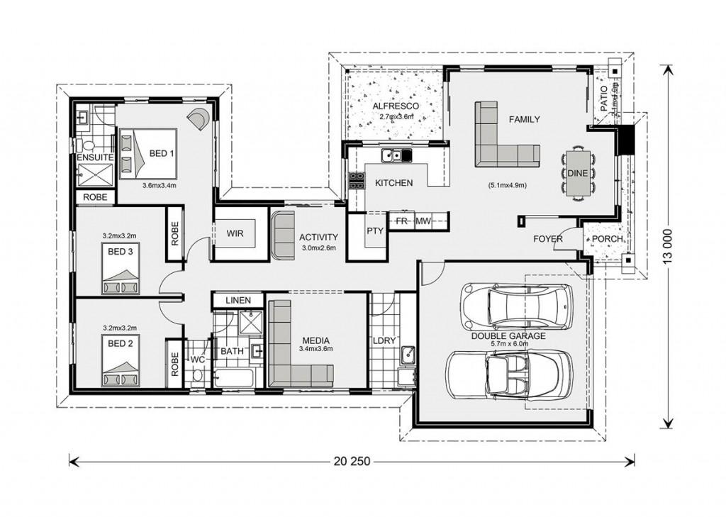 Lakeview 212 - Element Series Floorplan