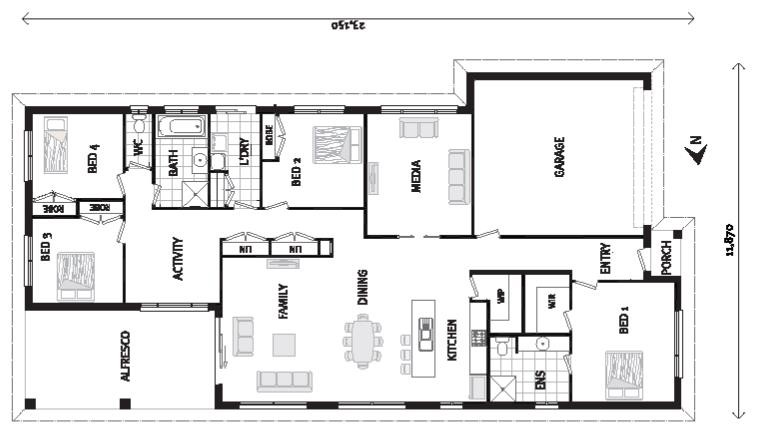 Pacific 250 - Element Series Floorplan