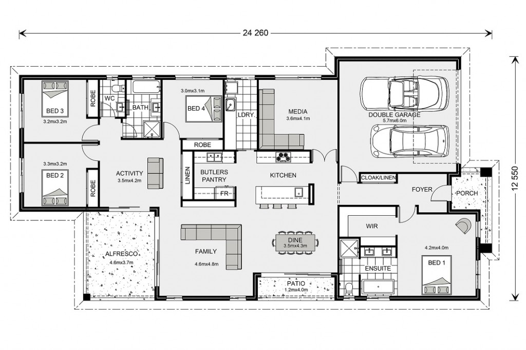 Benowa 260 - Element Series Floorplan
