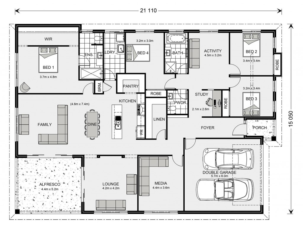 Iluka 302 - Express Series Floorplan