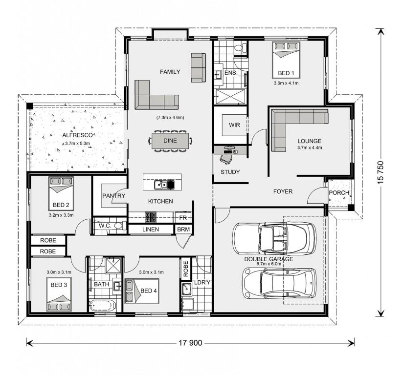Fernbank 242 - Express Series Floorplan