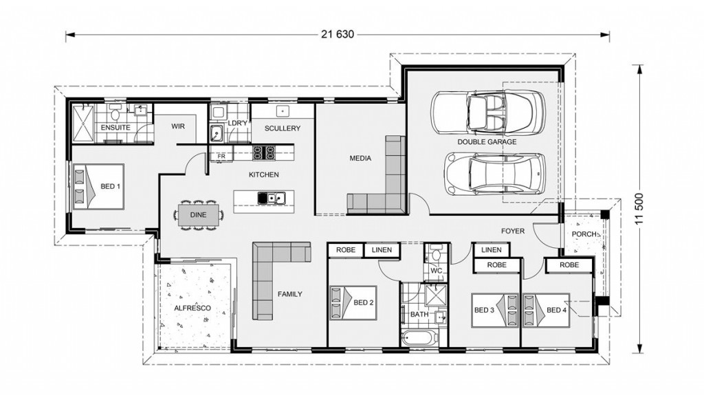Edgewater 205 - Element Series Floorplan