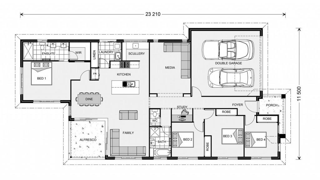 Edgewater 219 - Element Series Floorplan