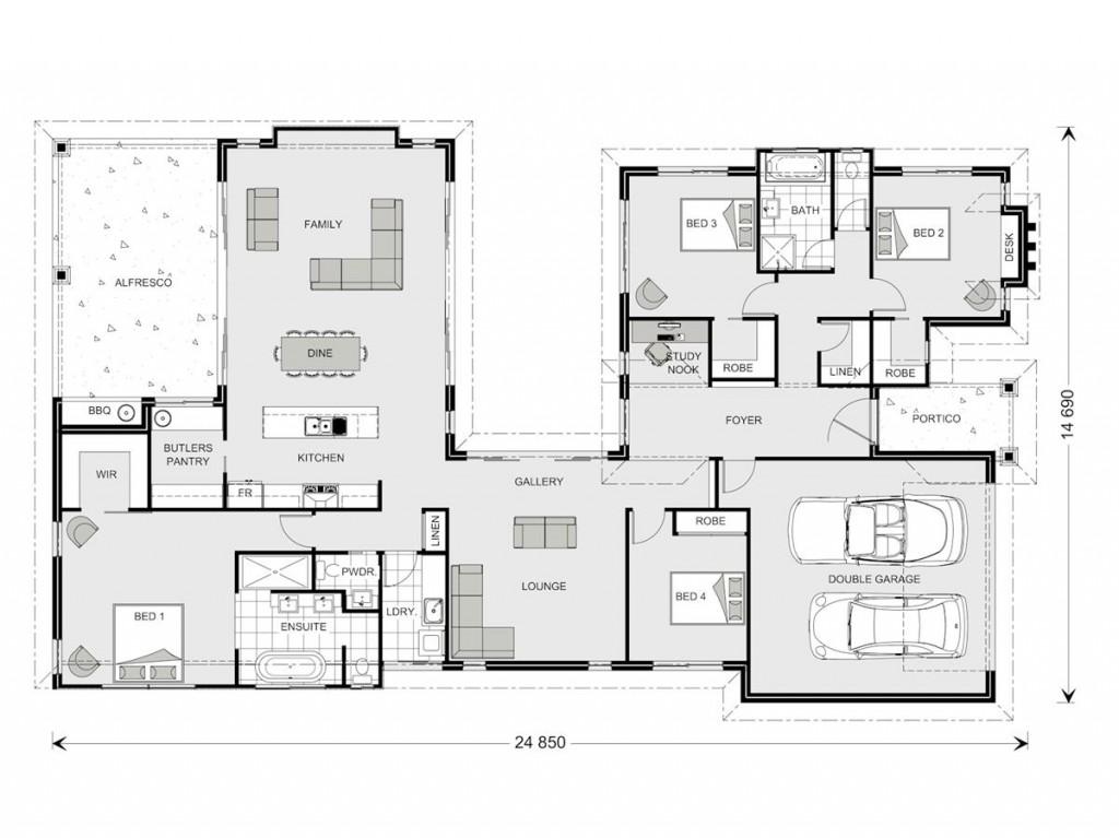 Mandalay 298 - Element Series Floorplan