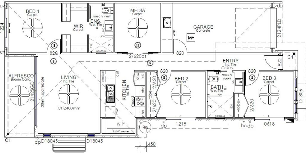 Seabrook 134 - Metro Series Floorplan