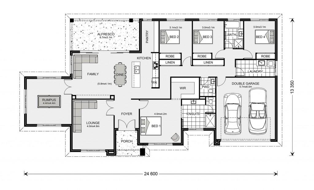 Oakdale Estate 272 - Estate Series Floorplan