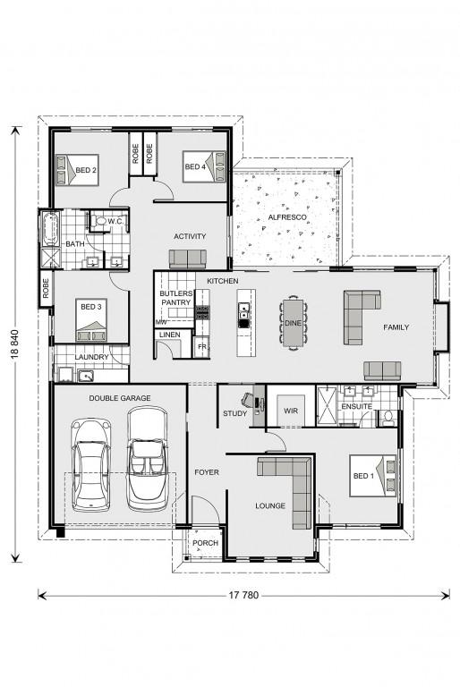 Fernbank Floorplan