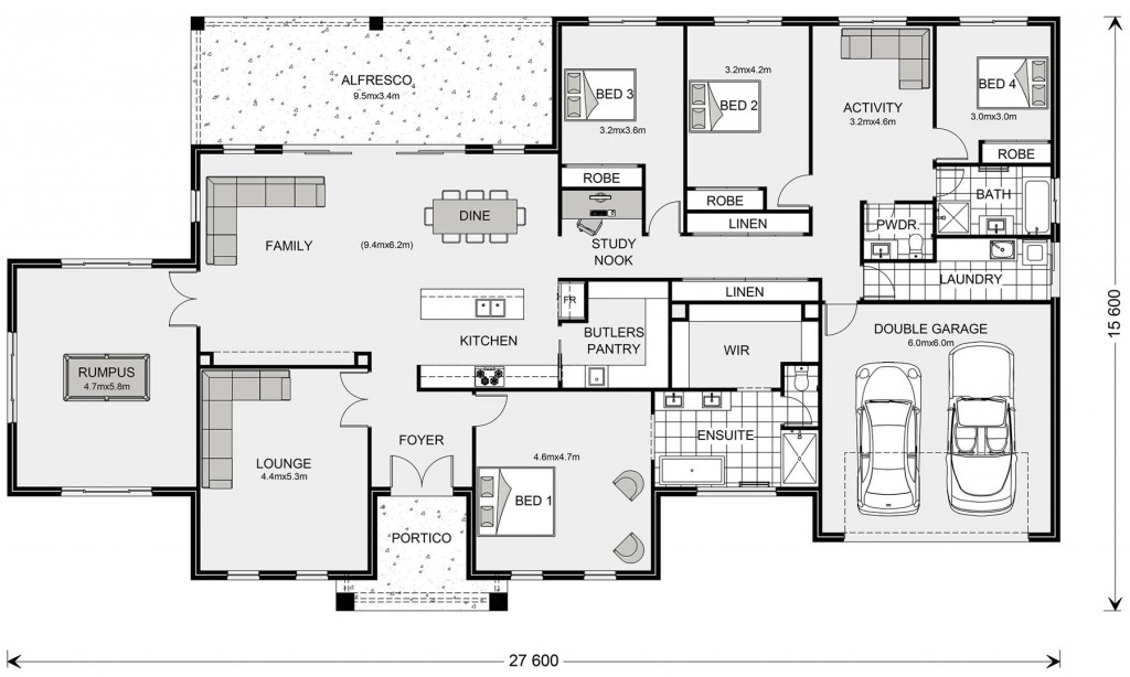 Oakdale Estate 355 Floorplan