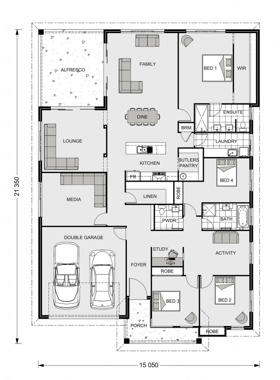 Iluka 300 Floorplan