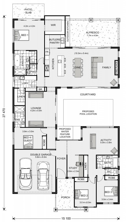 Mandalay 335 Floorplan