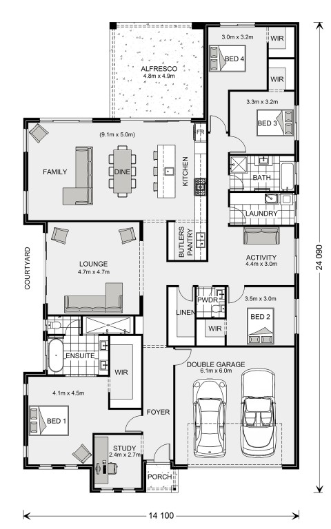 Long Bay Floorplan