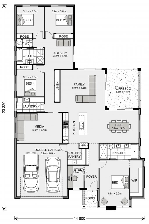 Coolum Floorplan