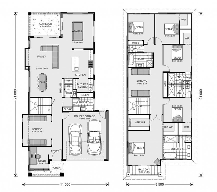 Elwood 353 Floorplan