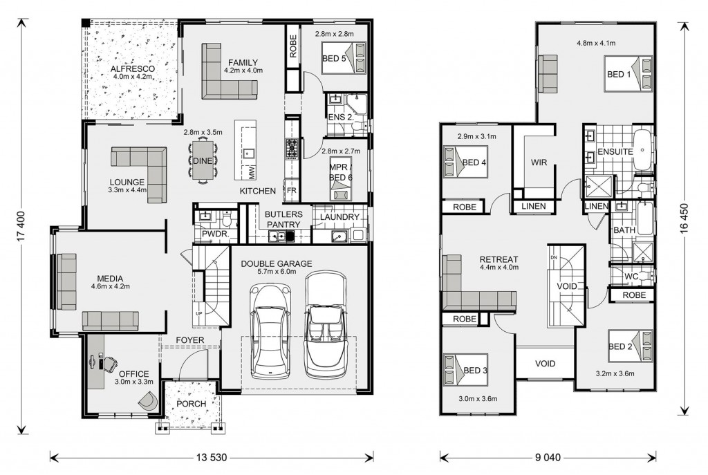 Twin Waters 330 Floorplan