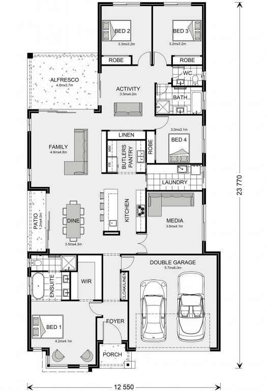 Benowa 260 Floorplan