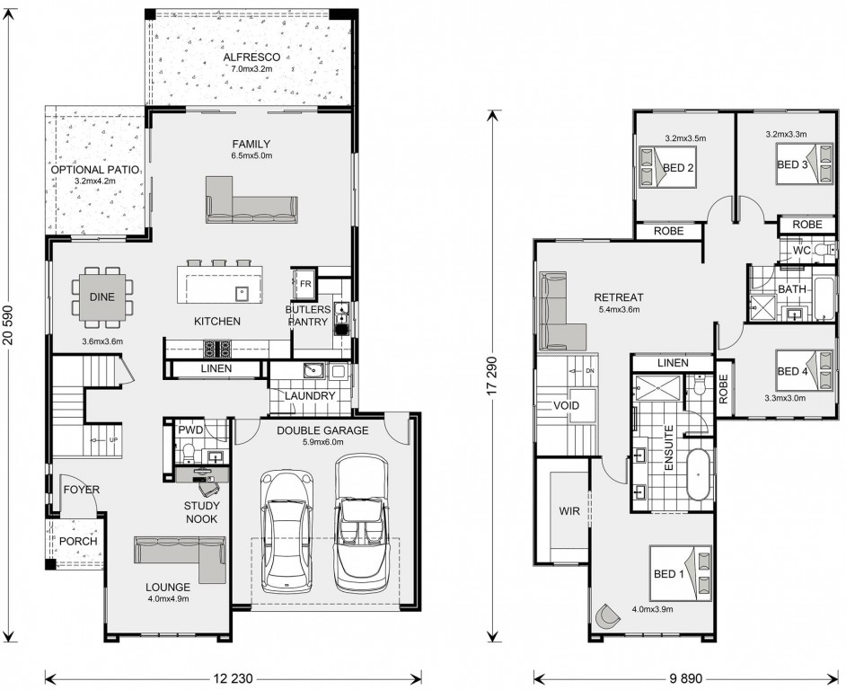 Avalon Bay Floorplan