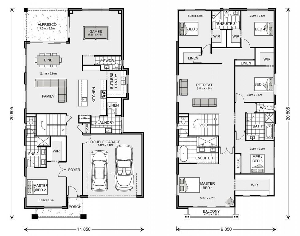 Balmain 400 Floorplan