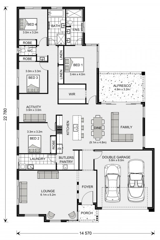 Elanora 268 Floorplan