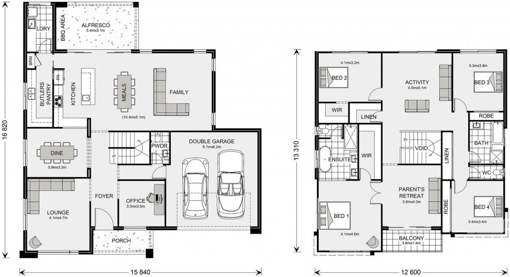Esplanade Floorplan