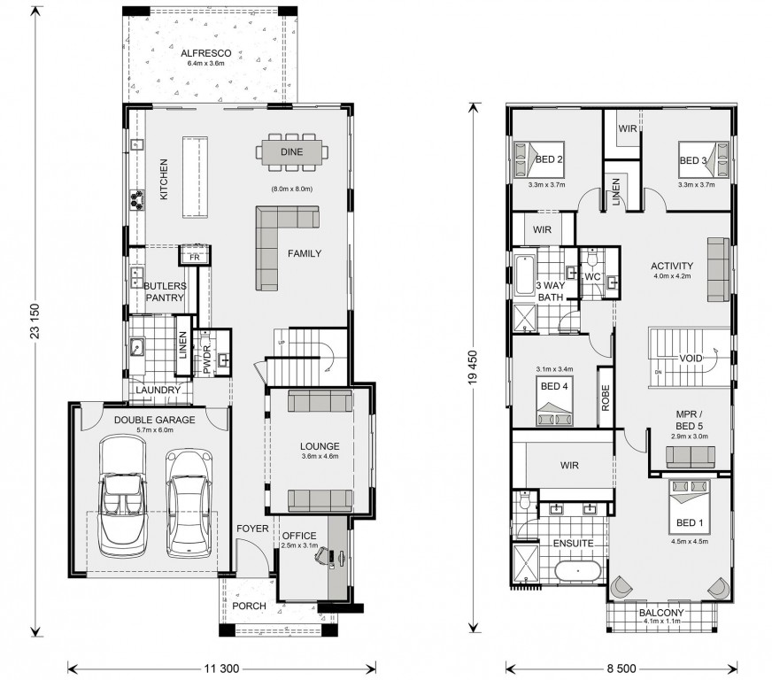 Kingscliff Floorplan