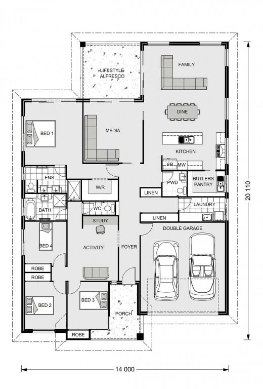 Hawkesbury 255 Floorplan