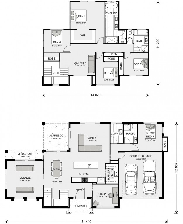 Greenbay 331 Floorplan