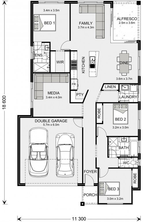 Beachlands 187 Floorplan