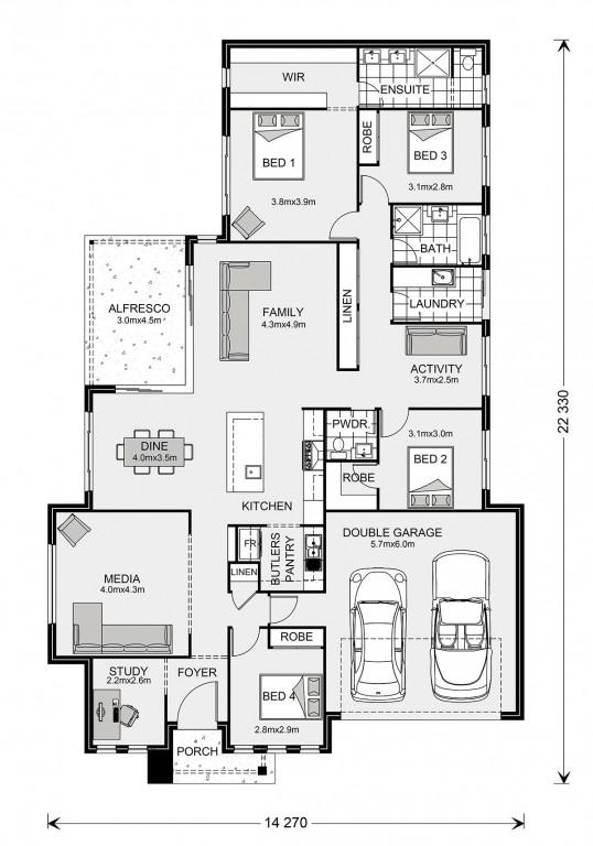 Bedarra 247 Floorplan