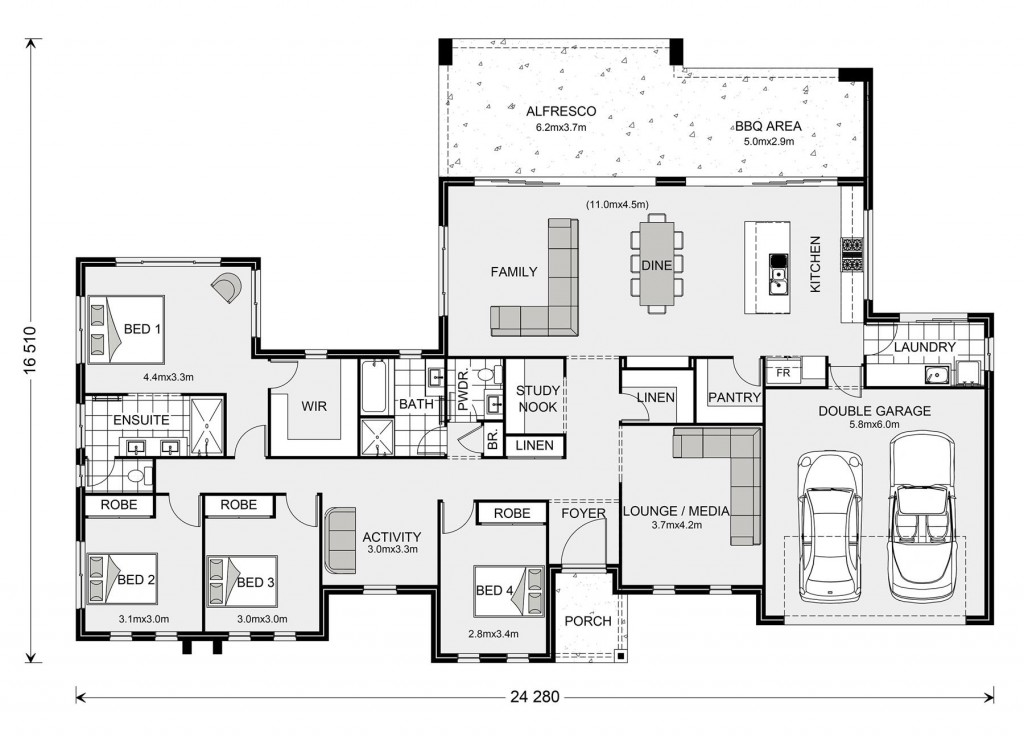 Stillwater Estate 285 Floorplan