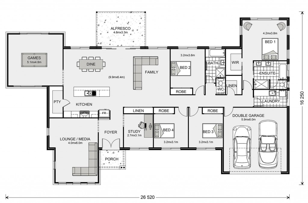 Kingaroy 304 Floorplan