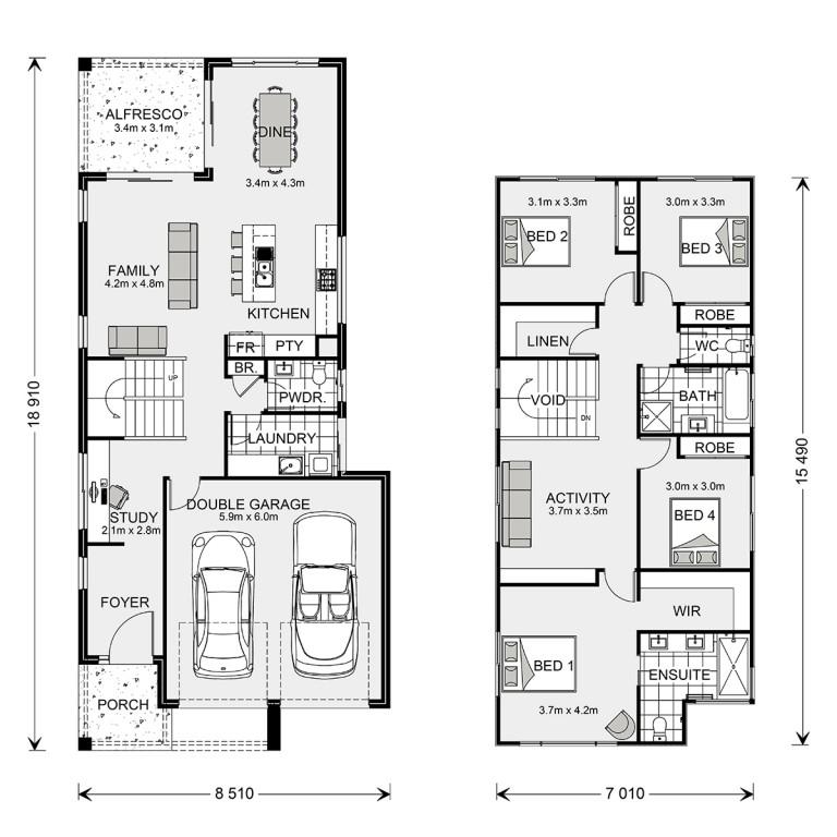 Lanai 247 Floorplan