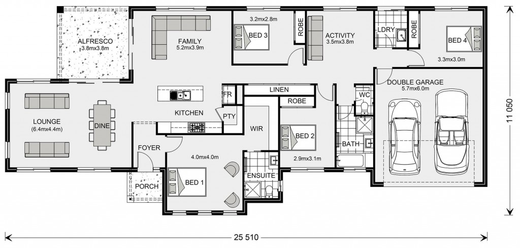 Rothbury Estate 234 Floorplan