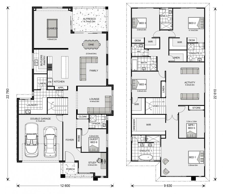 Manhattan 440 Floorplan