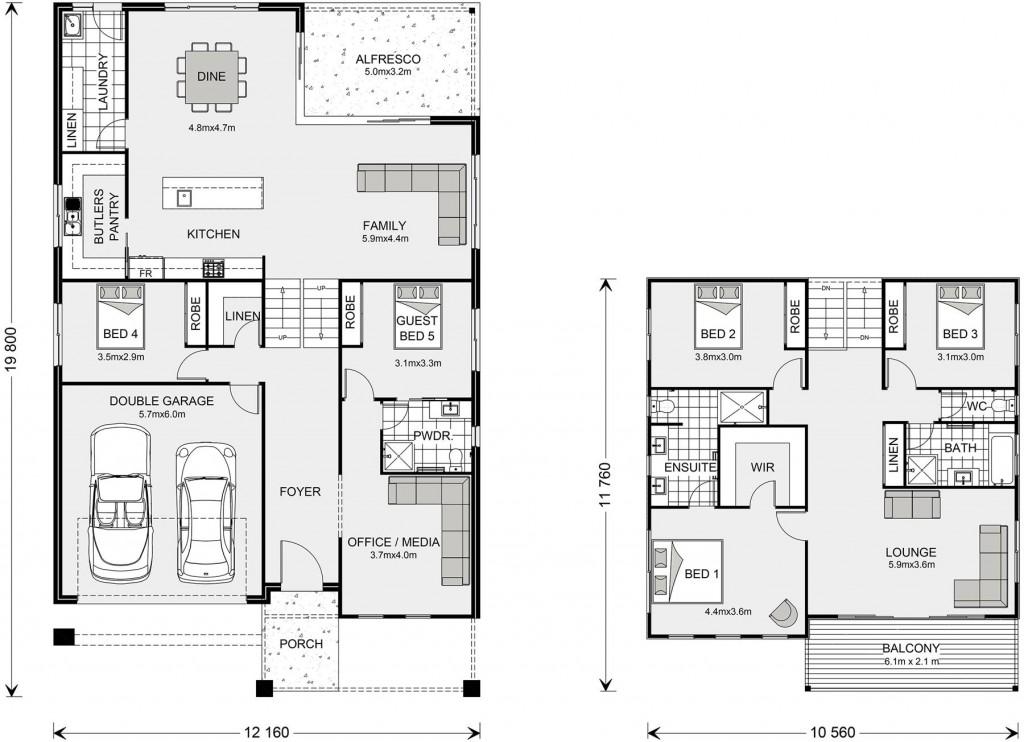 Seaview 333 Split Floorplan