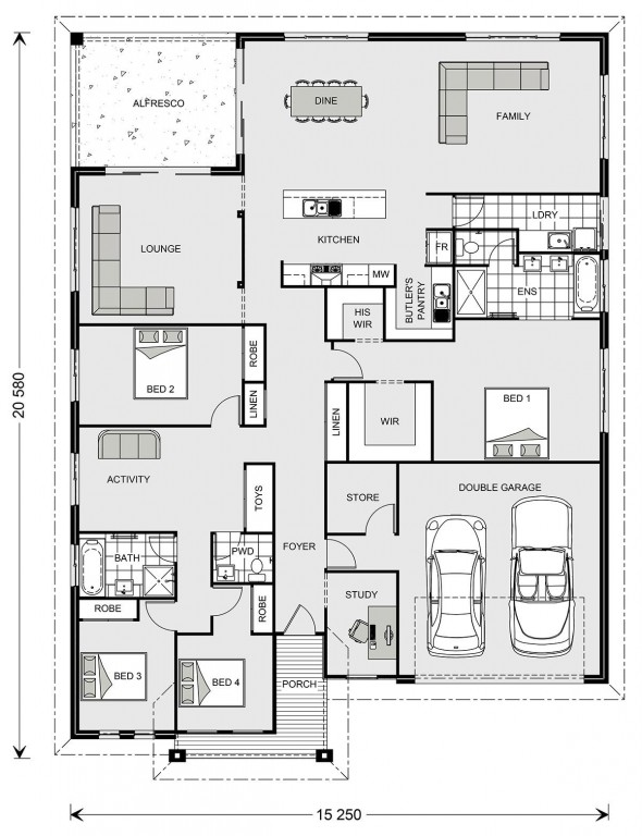 Casuarina 295 Floorplan