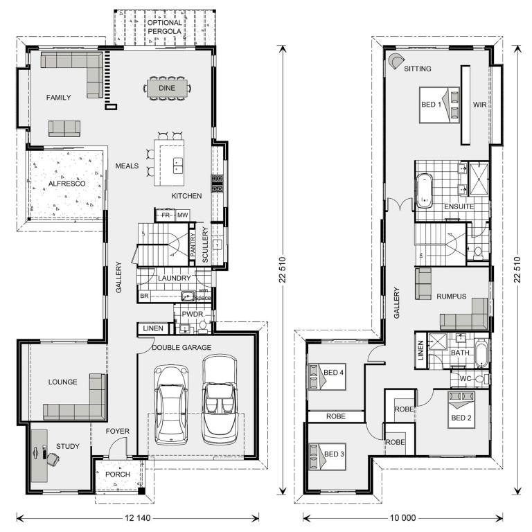 Galleria 352 Floorplan