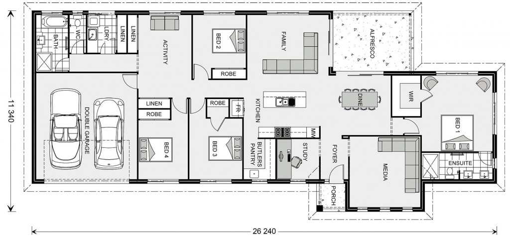 Edgewater Estate 250 Floorplan