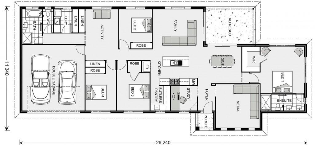 Edgewater 250 Floorplan
