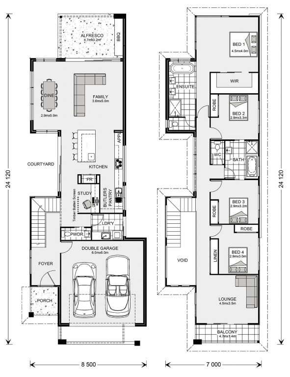 Nelson Bay 294 Floorplan