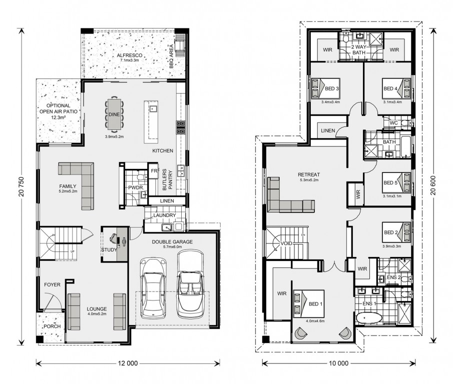 Bayview 370 Floorplan