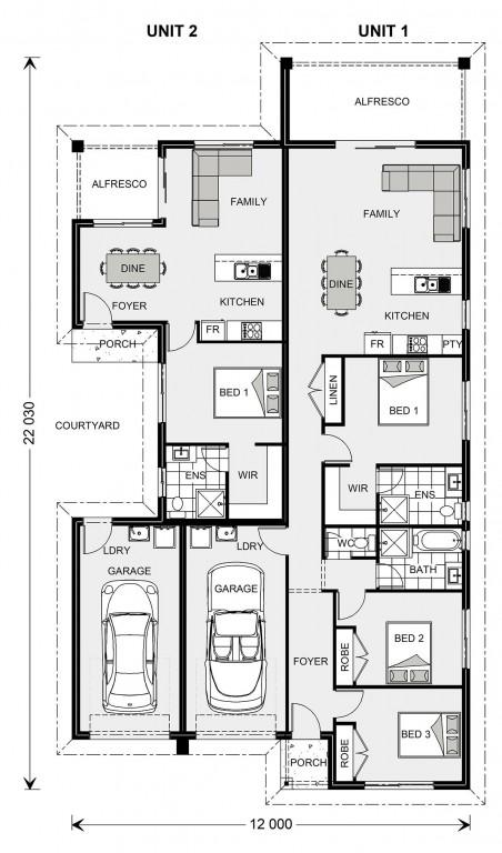 Sherwood 227 Floorplan