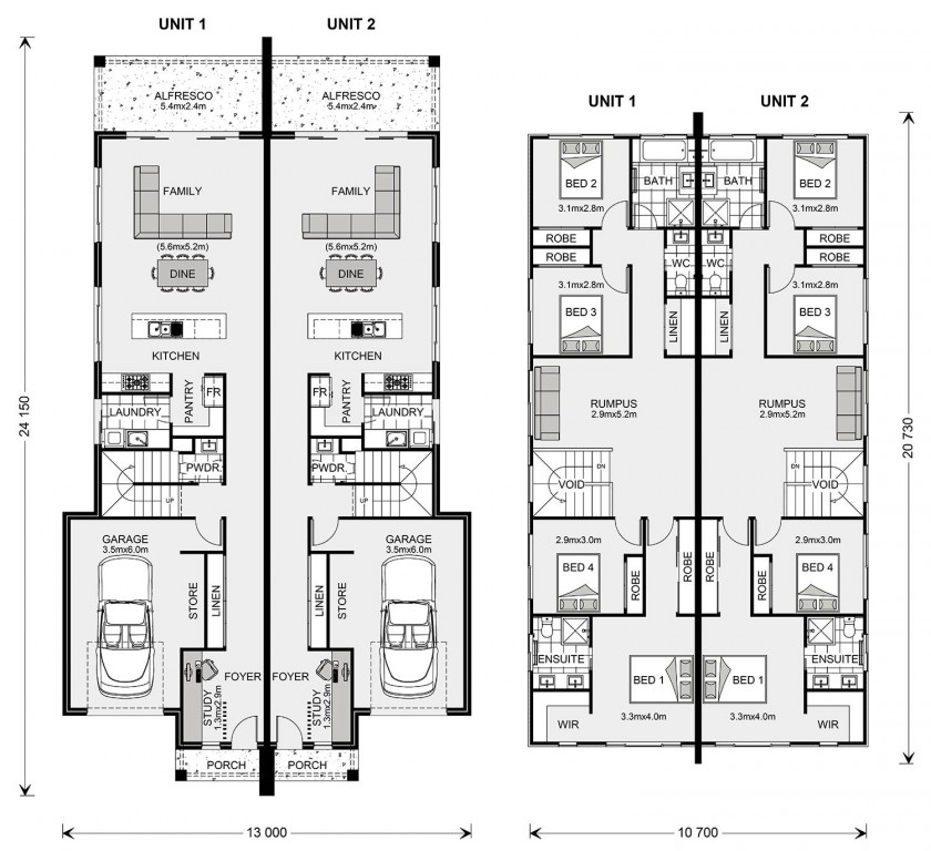 Brunswick 232 Floorplan