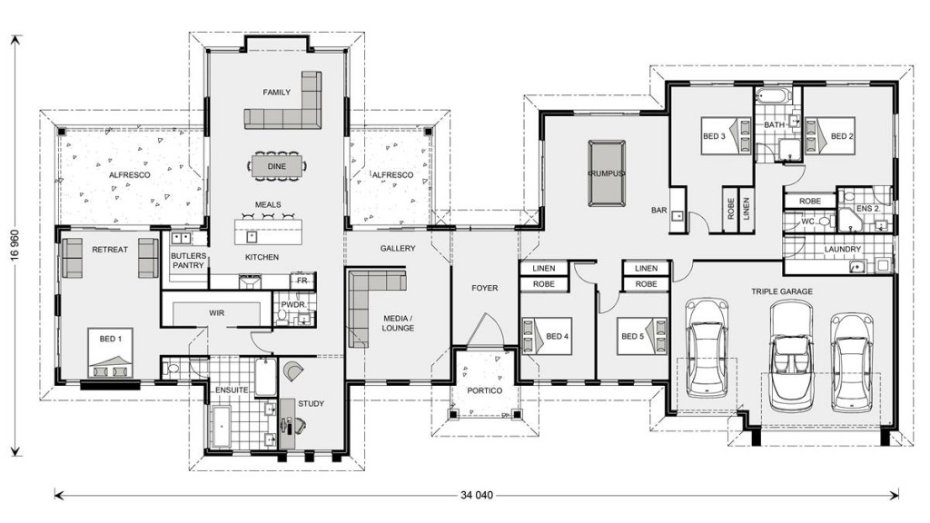 Rivervale 417 Floorplan