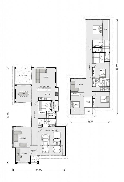 Galleria 305 Floorplan