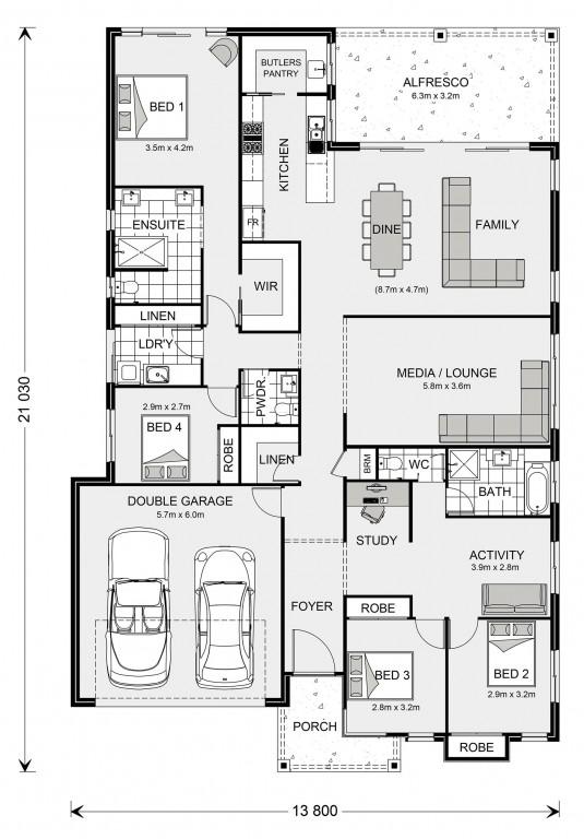 Seacrest 264 Floorplan