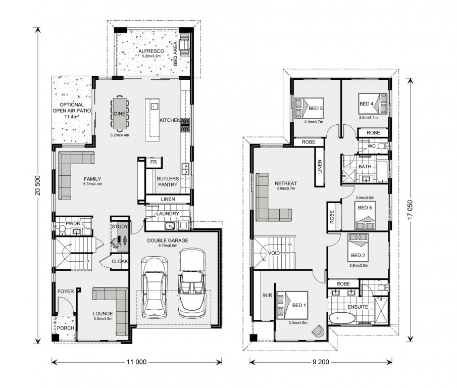 Bayview 310 Floorplan