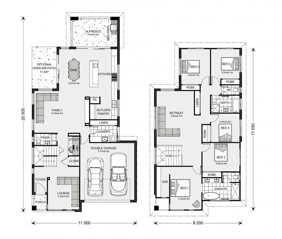 Bayview 310 Floorplan