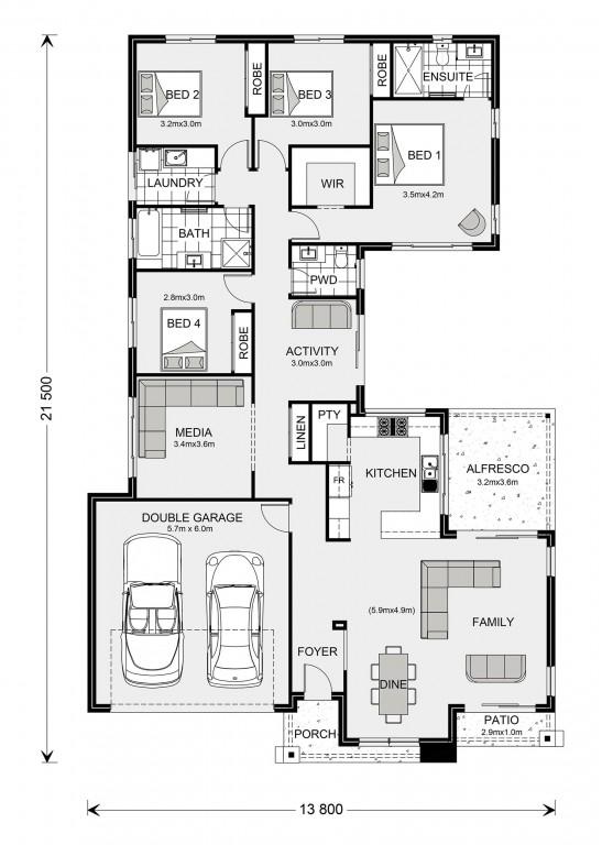Lakeview 234 Floorplan