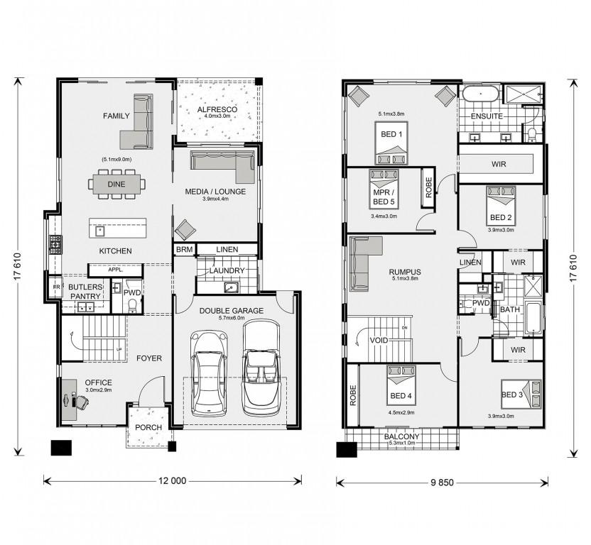 Coogee 333 Floorplan