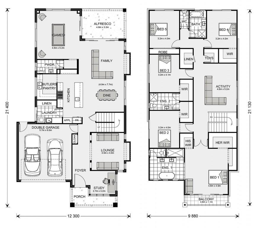 Elwood 406 Floorplan
